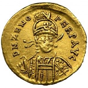 Roman Imperial, Zeno, Solidus