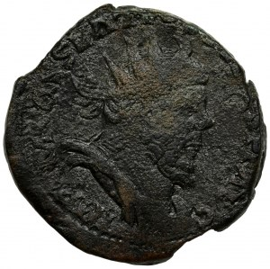 Roman Imperial, Postumus, Double Sestertius - RARE