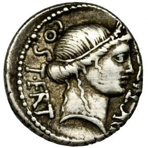 Roman Republic, Julius Caesar, Denarius