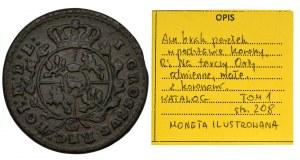 Poniatowski, Groschen Krakau 1767 G - ILUSTRATED