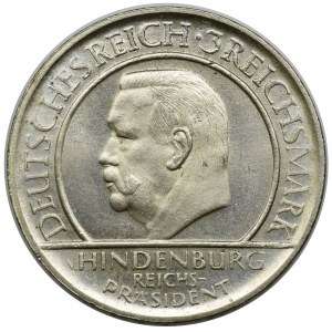 Germany, Weimar Republic, 3 mark Munich 1929 D
