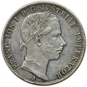 Austria, Franciszek Józef I, 1 Floren Wiedeń 1860 A