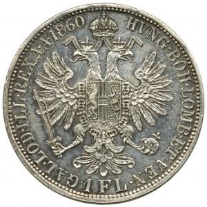 Austria, Franz Joseph I, 1 Floren Wien 1860 A