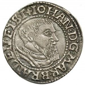 Silesia, John of Brandenburg-Küstrin, Groschen Krosno 1546