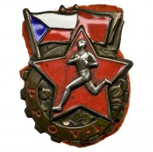 Czechoslovakia, Badge PPOV 1st class