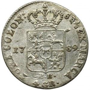 Poniatowski, 4 Groschen Warsaw 1789 EB