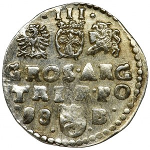 Sigismund III Vasa, 3 Groschen Bromberg 1598