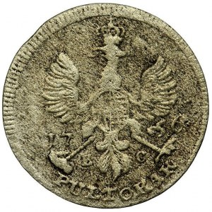 August III Sas, Półtorak Lipsk 1756 EC - PULTORAK, RZADKI
