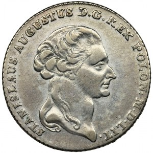 Poniatowski, Talar 6 złotowy Warszawa 1794
