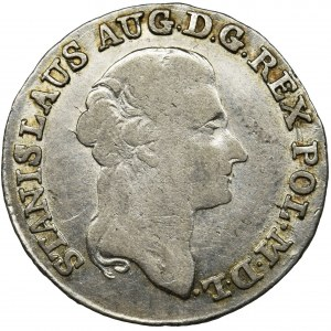 Poniatowski, 4 Groschen Warsaw 1791 EB