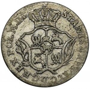 Poniatowski, 2 Groschen Warsaw 1772 AP - RARE