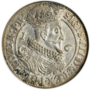 Sigismund III Vasa, 1/4 Thaler Danzig 1626 - NGC MS61 - PR•