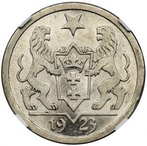 Free City of Danzig, 2 gulden 1923 - NGC MS62