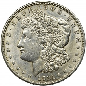 USA, 1 dollar Philadelphia 1921 - Morgan