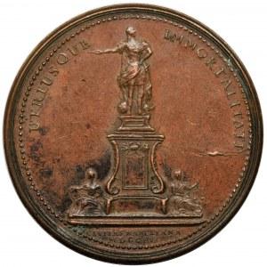 Stanisław Leszczyński, Medal Nancy 1755