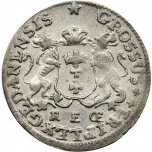 Augustus III of Poland, 3 Groschen Danzig 1760 REOE