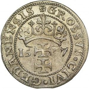 Siege of Danzig, Groschen 1577 - Goebl - RARE