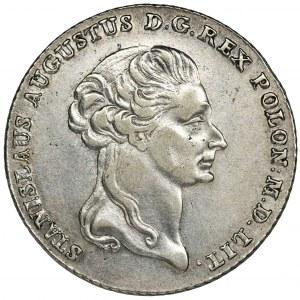 Poniatowski, Thaler 6 zloty Warsaw 1795