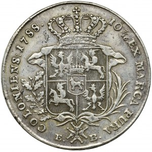 Poniatowski, Talar Warszawa 1788 EB