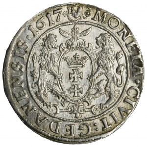 Sigismund III Vasa, 1/4 Thaler Danzig 1617