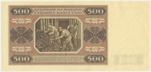 500 złotych 1948 - BL - Kolekcja Lucow