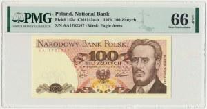 100 złotych 1975 - AA - PMG 66 EPQ