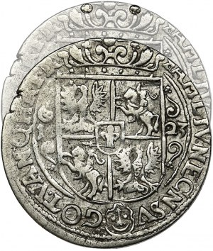 Sigismund III Vasa, 1/4 Thaler Bromberg 1623 - PRV M - RARE