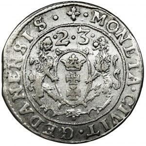 Sigismund III Vasa, 1/4 Thaler Danzig 1623 - PRV•