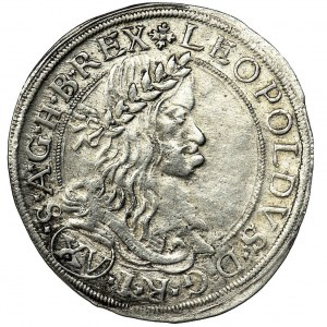 Austria, Leopold I Habsburg, 15 Kreuzer Wien 1662 CA