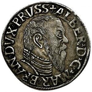 Prussia, Albrecht Hohenzollern, 3 Groschen Königsberg 1544 - RARE