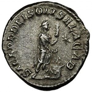 Roman Imperial, Elagabalus, Denarius