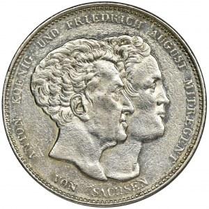 Germany, Saxony, Thaler Dresden 1831 S - Saxony Constitution