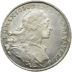 Germany, Bavaria, Maximilian III Joseph, Thaler Munich 1755
