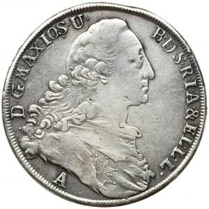 Germany, Bavaria, Maximilian III Joseph, Thaler Munich 1775