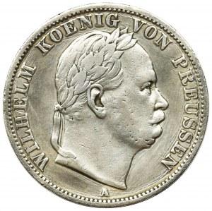 Germany, Kingdom of Prussia, Wilhelm I, Thaler Berlin 1866