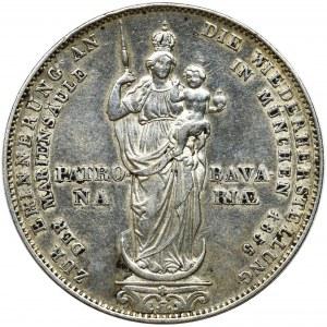 Germany, Bavaria, Maximilian II Joseph, Thaler Munich 1855