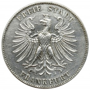 Germany, Free City of Frankfurt, Thaler 1859