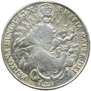 Hungary, Joseph II, Thaler Kremnitz 1783 B