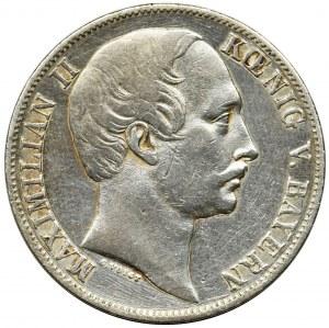 Germany, Bavaria, Maximilian II Joseph, Thaler Munich 1860