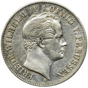 Germany, Kingdom of Prussia, Friedrich Wilhelm IV, Thaler Berlin 1849 A