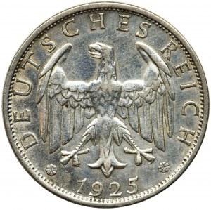 Germany, Weimar Republic, 2 mark Berlin 1925 A