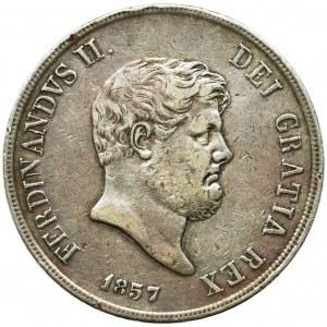 Italy, Kingdom of Sicily and Neapol, Ferdinand II, Piastra = 120 grana Neapol 1857
