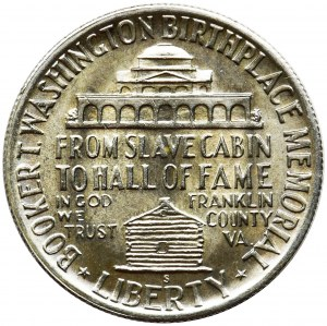 USA, 1/2 dolara San Francisco 1946 S - Booker Taliferro Washington