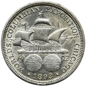 USA, 1/2 dollar Philadelphia 1893 - World's Columbian Exposition Chicago