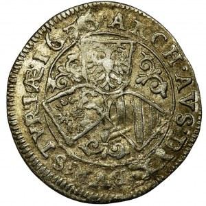 Austria, Ferdinand II, 3 Kreuzer Graz 1626