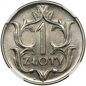1 złoty 1929 - NGC MS64