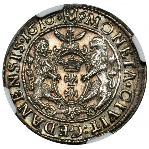 Sigismund III Vasa, 1/4 Thaler Danzig 1616 - NGC UNC DETAILS