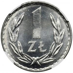 1 złoty 1977 - NGC MS65