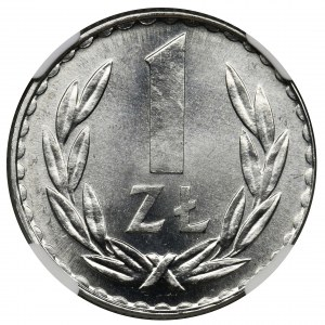 1 złoty 1981 - NGC MS66
