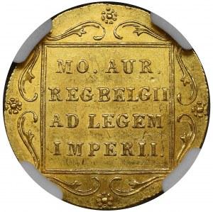 November Uprising, Ducat Warsaw 1831 - NGC MS63